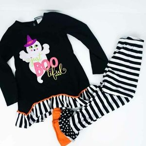 Emily Rose Halloween Outfit Set Ghost Boo Size 8